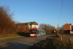 45 Aachen-Laurensberg Uniklinik | ASEAG | Van Hool AGG 300 | 234 (Fünfhundertfünf) Tags: aseag doppelgelenkbus agg300 vanhoolagg30 vanhool gelenkbus laurensberg uniklinik