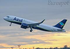 F-WWIG Airbus A320 Neo AZUL (@Eurospot) Tags: airbus a320 neo toulouse blagnac prysb fwwig 9362 azul a320251n
