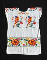 Oaxaca Huipil Mazatec Huautla Textiles (Teyacapan) Tags: huautladejimenez oaxaca mexican huipiles ropa clothing textiles embroidered