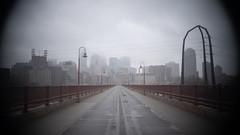 brief emptiness (@cinepaint) Tags: minneapolis stonearchbridge stone bridge bridges a7iii a73 sony alpha fog mist misty mississippiriver