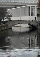 james simon galerie (milchschäfer3) Tags: berlin museumsinsel james simon galerie spree sichtbarkeit ästhetik surreal surrealism chipperfield spiegelung