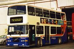 Dublin Bus RV578 (99D578). (Fred Dean Jnr) Tags: busathacliath bus dublin dublinbus donnybrook volvo olympian alexander donnybrookgaragedublin january2003 dbrook rh dublinbusbluecreamlivery rv578 99d578 oig5682 v325jmb