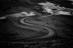 Mam Nick road (l4ts) Tags: landscape derbyshire peakdistrict darkpeak mamtor mamnickroad edale blackwhite monochrome
