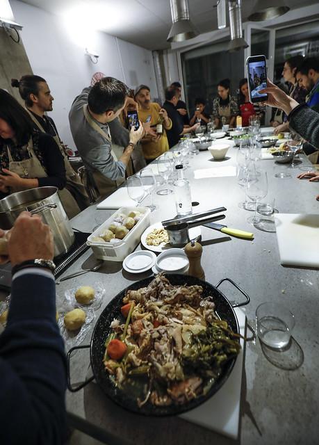 """MASTERCLASS """"BACARO"""" en ocasión de la IVª Semana de la Cocina Italiana en el Mundo"""