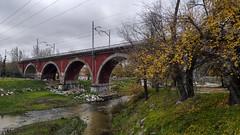 Puente de los Franceses (Carlos SGP) Tags: españa es madrid puente rio riomanzanares tren ferrocarril xiaomi xiaomi9pro