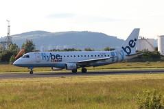 Flybe G-FBJA BHD 25/06/19 (ethana23) Tags: planes planespotting aviation avgeek aircraft aeroplane airplane flybe embraer e175 175