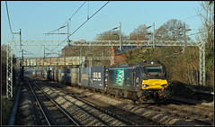 88002, Cathiron (Jason 87030) Tags: 88002 directrailservices wcml blue compass loco engine tracks train railway frecht freight shadows lighting color colout 4m27 mossend crick dirft daventry rugby warks warwickshire composition frame border december 2019