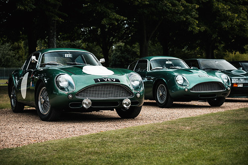 1960 Aston Martin DB4GT Zagato 1VEV at the 2019 Concours of Elegance at Hampton Court Palace