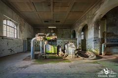 Textilwerk Turbine, Germany (ObsidianUrbex) Tags: abandoned digitalphotography factory germany industry photography textile textilfabrik textilwerk turbine urbanexploration urbex