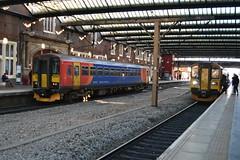 Photo of East Midlands Railway Class 153s 153355 & 153313 - Stoke-on-Trent