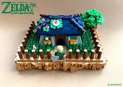 Marin & Tarin's Home (speedyhead79) Tags: lego legomoc moc zelda thelegendofzelda link nintendo afol
