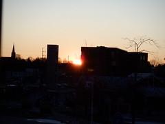 A Trace of Skyfire (jadedirishgryphon) Tags: sunset riverfront sheboygan wisconsin autumn