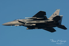 F15E-LN-91-0303-4-12-19-RAF-MARHAM (Benn P George Photography) Tags: rafmarham 41219 bennpgeorgephotography belgianairforce erj135lr ce01 usairforce f15e strikeeagle 910301 910303 48fw 492fs ln nikon nikond7100 nikon200500 norfolk