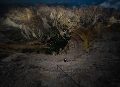Tofana di Rozes (Leonardo Đogaš) Tags: italy italia alpes alpe dolomiti dolomites ferrata landscape outdoor climbing roks rock mountain planina penjanje pejzaž leonardođogaš tofanadirozes
