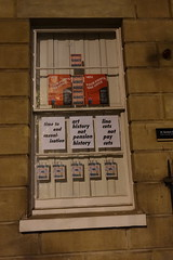 4th December 2019 (themostinept) Tags: 21gordonsquare posters strike ucu uss iwgb boycott window ucl brickwall london camden bloomsbury wc1