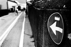 Walk this way (Leica M6) (stefankamert) Tags: film analog grain lines sign leica m6 leicam6 fomapan foma noir blackandwhite blackwhite people stefankamert blur blurry tones colico italy noiretblanc bw 092019