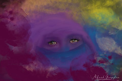 Fading Mothers (Alfred Grupstra) Tags: humanface women people creativity humaneye fashion fantasy makeup females multicolored oneperson beauty beautiful looking portrait art elegance eyelash abstract glamour woman mother