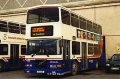 Dublin Bus RV495 (99D495). (Fred Dean Jnr) Tags: busathacliath bus dublin dublinbus donnybrook volvo olympian alexander donnybrookgaragedublin january2003 dbrook rh dublinbusbluecreamlivery rv495 99d495