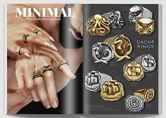 MINIMAL - Poseidon Rings Gacha (MINIMAL Store) Tags: minimal poseidon rings gacha signature belleza legacy maitreya tmd secondlife event slevent