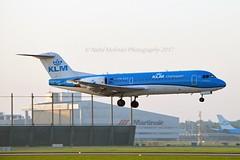 KLM Cityhopper PH-KZS Fokker F70 cn/11540 wfu 28-10-2017 std at NWI 29-10-2017 - 27-01-2018 reg OB-2153-P Wayraperú 09 Feb 2018 @ Buitenveldertbaan EHAM / AMS 10-09-2016 (Nabil Molinari Photography) Tags: klm cityhopper phkzs fokker f70 cn11540 wfu 28102017 std nwi 29102017 27012018 reg ob2153p wayraperú 09 feb 2018 buitenveldertbaan eham ams 10092016