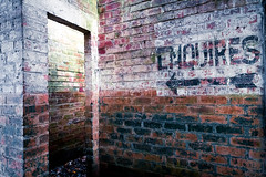 Enquires (Maisiebeth) Tags: raftilstock derelict whitchurch shropshire airfield sign walls