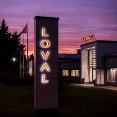 Lovisa (Thomas Gartz) Tags: loviisa lovisa loval factory sunset bluehour finland suomi scandinavia tehdas fabrik square handheld december