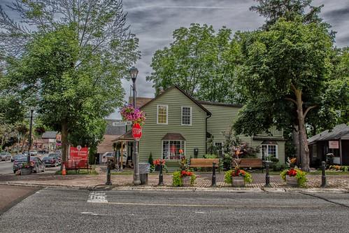 Kleinburg Ontario - Canada - Hawthorne House - HIstorical House