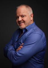 Scott (James Billson) Tags: portraitsofmen studioportraiture portrait male shirt collar blue lighting darkbackground canon7d flashpointxplor600 48inparabolic sigmalenses edina minnesota
