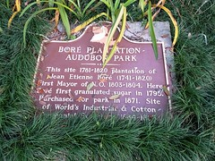 New Orleans (heytampa) Tags: neworleans zoo audubonzoo historical marker plaque boreplantation audubonpark sign sugar