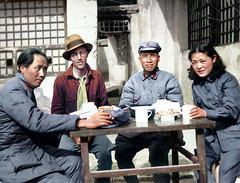 Chinese Communist Headquarters in the 1930's | Мао Цзедун, 1930-е (klimbims) Tags: chinesecommunistheadquarters 1930s yenan maotsetung earlleaf chuteh madametsetung
