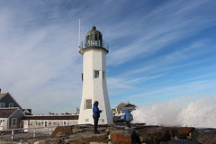 Scituate Light – Scituate, Massachusetts (Stephen St-Denis) Tags: scituate massachusetts oldscituatelight plymouthcounty southshore