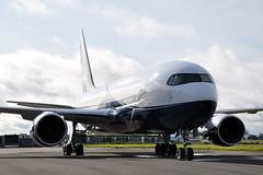 P4-CLA  B767-2DX(ER) (New Colours) (n707pm) Tags: p4cla boeing b767 767 corporate executive airport airplane aircraft einn snn coclare ireland rineanna iac painting 13102019 shannonairport cn32954