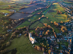 Wymondham Abbey. (Atlas Aerial and Land Photography) Tags: wymondham abbey norfolk country countryside trees landscape