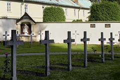 maria on graveyard (van1o) Tags: krzeszowice autumn graveyard maria katholick katoliek sony sonya7 sonyilce7 polen poland