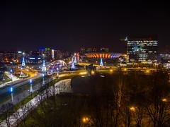 "Katowice ""Spodek"" II (dadudawien) Tags: yim1 yi1240mm katowice nacht licht lichtstimmung citylights night farbenpracht ngc"