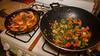 Peppered Shrimp / Green Chard & Veggies (detopics) Tags: athompson canon bandeto canon70d canoneos canonusa food foodporn homecooking photography