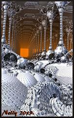 * Winter house... (MONKEY50) Tags: m3d psp art fractal digital abstract colors winter musictomyeyes fantasy hypothetical awardtree artdigital netartii exoticimage autofocus contactgroups flickraward