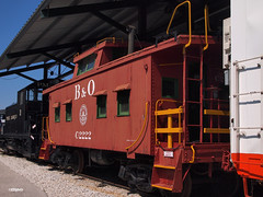 190819_043_BO_BOC2222 (AgentADQ) Tags: baltimore ohio bo railroad museum maryland train trains railway preservation c2222 caboose