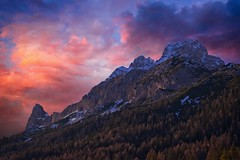 Dolomites Glory (l.cutolo) Tags: tlp bluehours ononeraw2020 ngc sunset cime purplesunsetsky southtyrol ai somadida saturation ononeraw2019 scape misurina sonyalpha perfecteffect onesoftware alps auronzodicadore mountains snow sony landscape flickr dusk dolomites luminar3 lucacutolo luminar4 italy vignette worldtrekker purplesky belluno winter pink onone peaks worldtrekking sonya7iii sonyfe70200mmf4goss