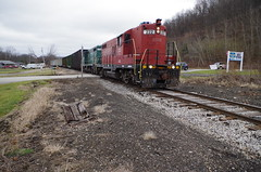 y&s 213 (Fan-T) Tags: ys youngstown southern southyeastern gp9 ic 9368 222 ibcx rogers ohio plw