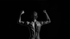 Simon (BenoitGEETS-Photography) Tags: back dos culturiste culturist body corps bodybuilding bodybuilder a6000 sony figurine toys jouet phicen bw bn noiretblanc nb 16