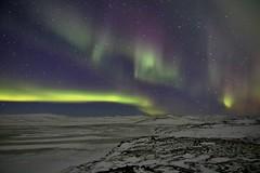 Aurora Iceland. 26.10.2019 #58 (ragnaolof) Tags: sky strandir steingrímsfjörður stars snow northernlights iceland bjarnafjörður bjarnafjarðarháls auroraborealis landscape night nature
