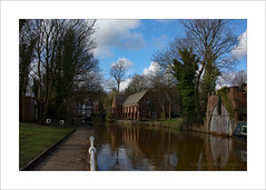 Bridgewater (prendergasttony) Tags: nikon d7200 tonyprendergast elements water canal boat boathouse bridgewater historical trees tudor reflection outdoors worsley clouds