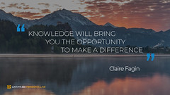 Quote by Claire Fagin (persona.lab) Tags: quotes education thoughts emotions personality clairefagin