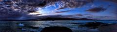 Passar uma tarde em Floripa (Miradortigre) Tags: brasil brazil playa praia atardecer sunset por de sol mar sea