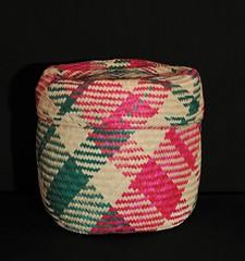 Oaxaca Basket Canasta Zapotec Mexican (Teyacapan) Tags: canasta mexican oaxacan zapotec sanluisamatlan crafts artesanias