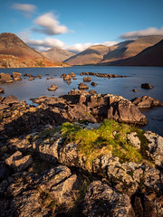 Time Warp at Wast Water (L.H.IMAGES) Tags: longexposure cloud mountain lake mountains water landscape landscapes rocks lakedistrict rugged scenics landscapephotography light grass clouds contrast outdoor lumixg9