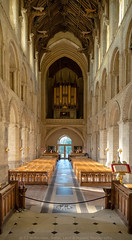 Wymondham Abbey. (Atlas Aerial and Land Photography) Tags: wymondham abbey parish church sun pews organ norfolk