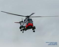 SEA KING PROVIDING THE COLOUR UNDER OVERCAST VICTORIA SKIES (AvgeekJoe) Tags: 12417 4017 61283 ch124 ch124seaking ch124a ch124aseaking canadianarmedforces d5300 dslr helicopter nikon nikond5300 rcaf register12417 royalcanadianairforce s61b seaking sikorskych124aseaking sikorskys61b tamron18400mm tamron18400mmf3563diiivchld aircraftbeacon beacon cn61283 chopper