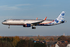AFL_A321SL_VPBEE_25L_BRU_NOV2019 (Yannick VP) Tags: civil commercial passenger pax transport aircraft airplane aeroplane jet jetliner airliner aeroflot russian airlines afl su airbus a321 321200 sl sharklets vpbee 95years special livery paint scheme approach landing runway rwy 25l brussels airport bru ebbr belgium be europe eu november 2019 aviation photography planespotting airplanespotting